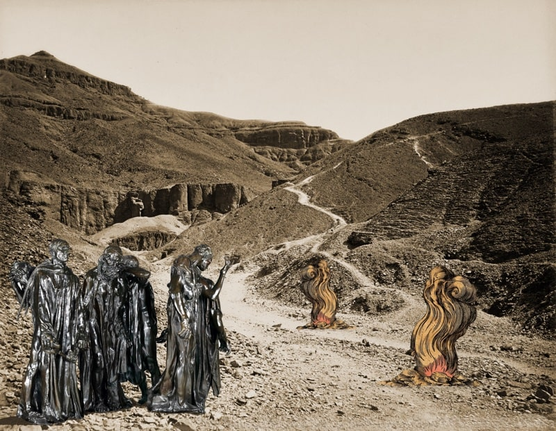 15. Burghers of Calais with Fires