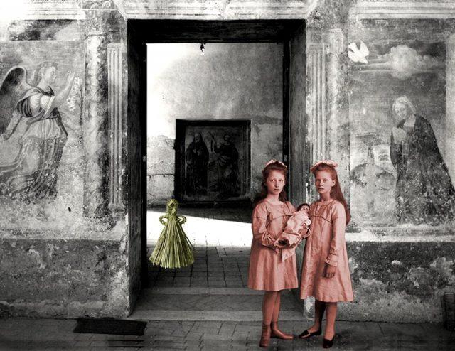 Girls at a Portal