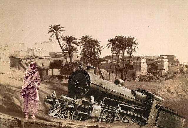 Shikari Woman with Locomotive