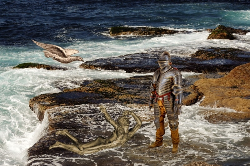 11. Victor and Vanquished at a Rock Shelf