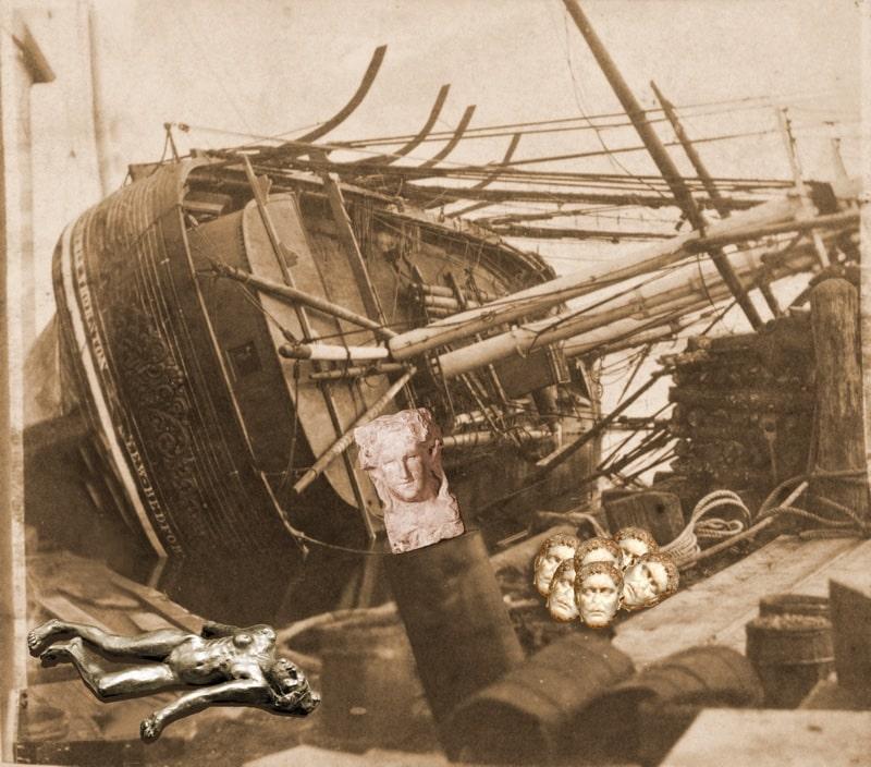 17. Whaler with a Dionysos Herm
