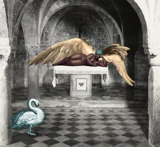 Woman at an Altar
