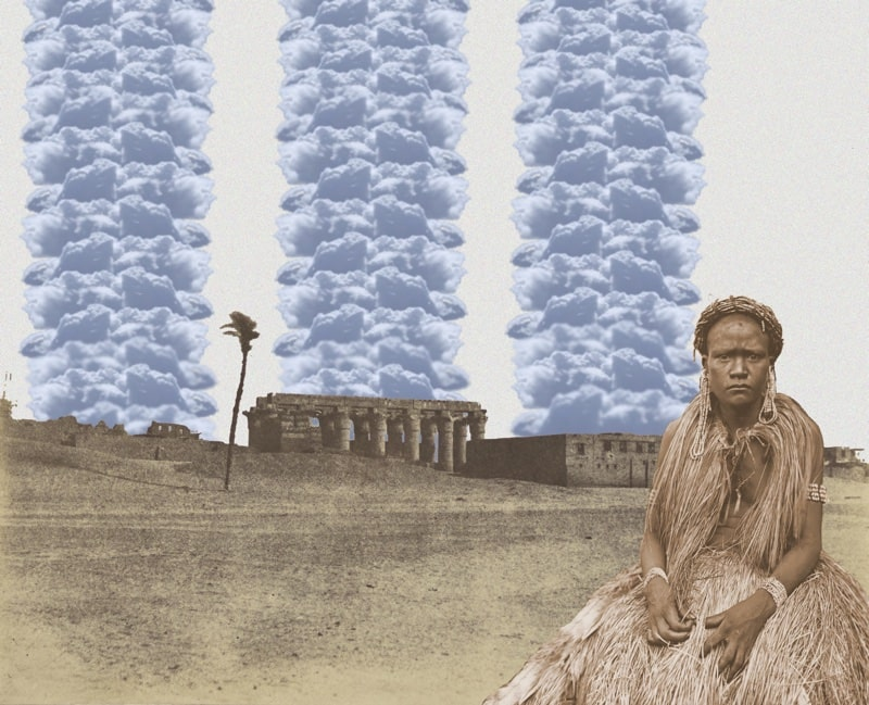13. Woman With Pillars of Cloud