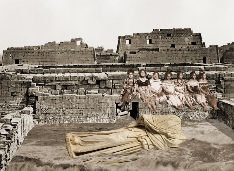 1. Women with a Sunken Goddess