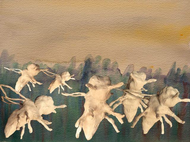 Galatina as a Swarm