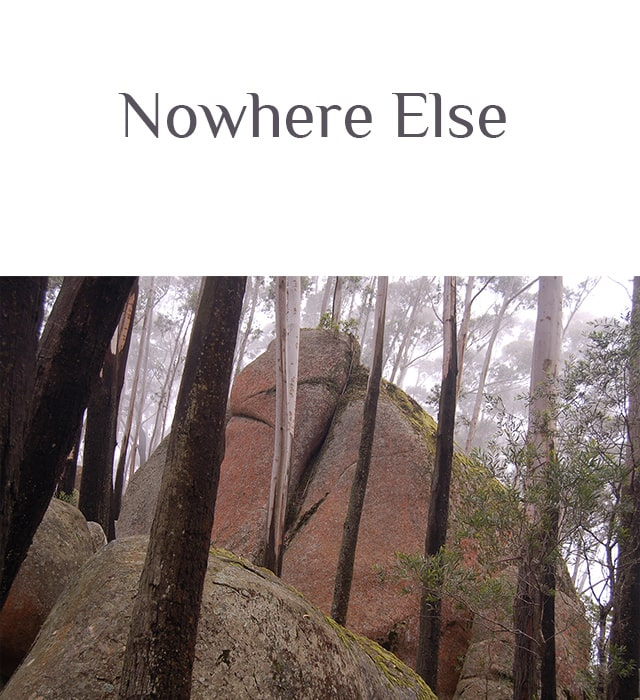 Nowhere Else Cover